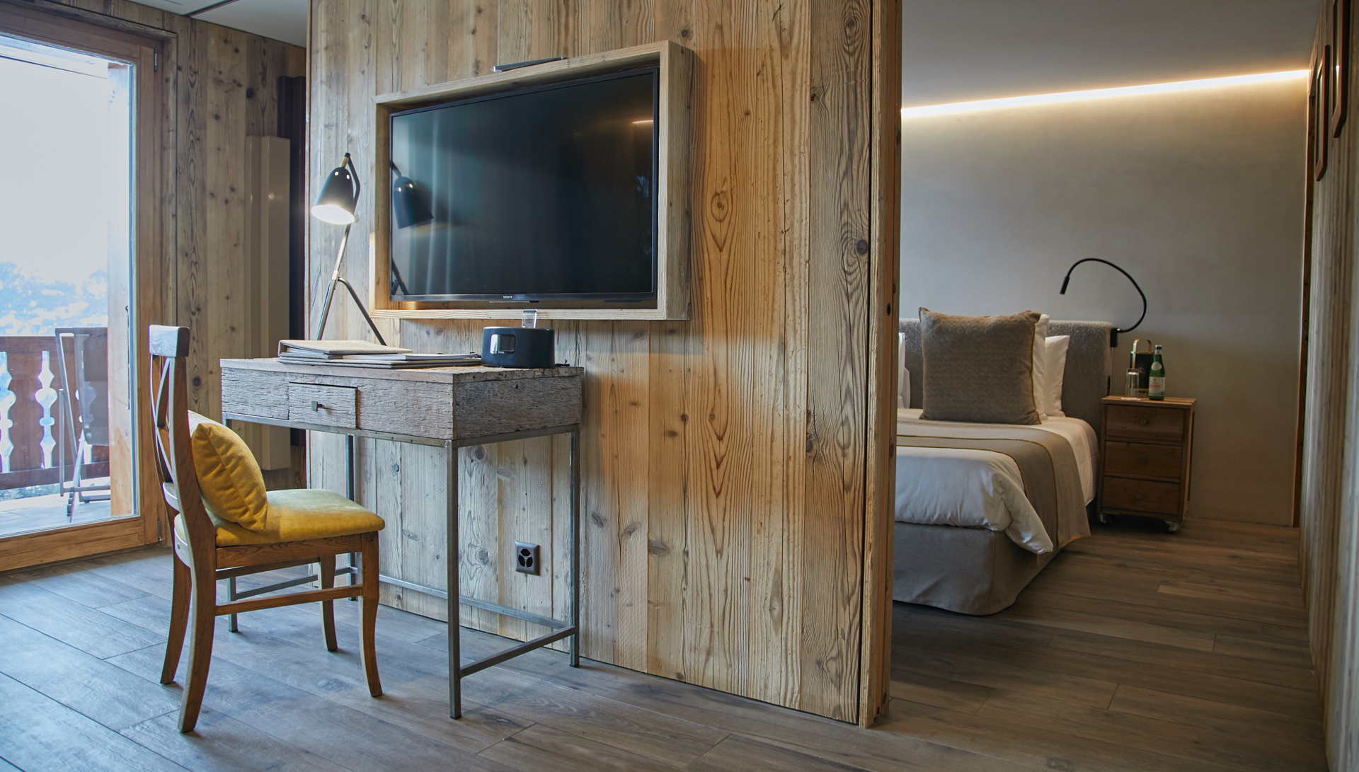 Le Chalet d'Adrien - Chambres Combins Prestige