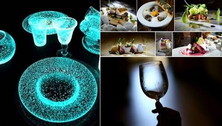 Un dîner dans le noir à la Table d'Adrien