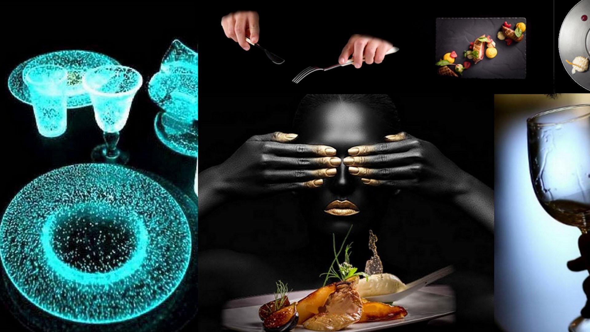 Black & Senses Dinner in the Chalet d'Adrien